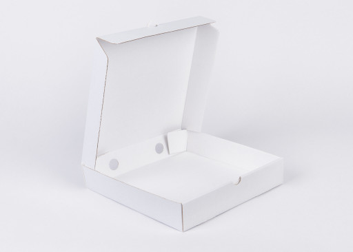 White 9 Inch Pizza Box