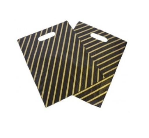 Black & Gold Carrier Bag 541x453x76mm