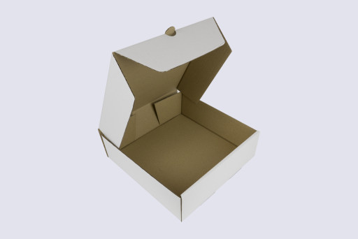 10 Inch Corrugated Cake Box - 3 Inches Tall